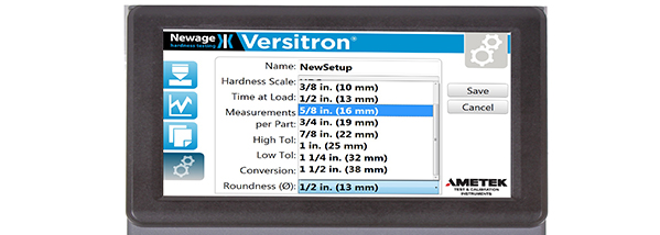 The New Generation of the Versitron Rockwell Hardness Testers is Here